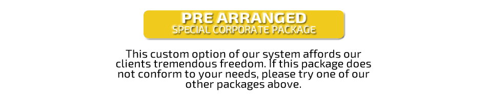 Pre-Arranged Special Corporate Package